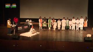 Group Singing Performance: (Patriotic Songs) by students of Manav Rachna International School