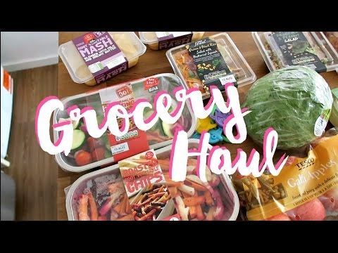 A HEALTHY (ISH) TESCO GROCERY HAUL - AUGUST 2016 | Charlotte Taylor