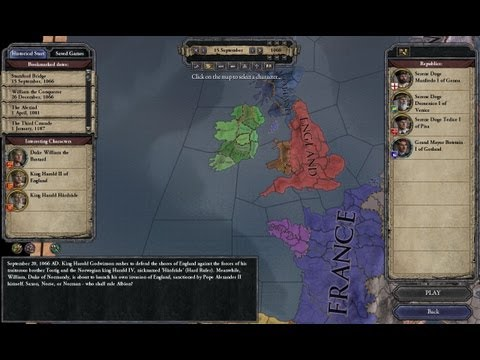 Let's Play Crusader Kings 2 - Ireland Campaign - Part 1