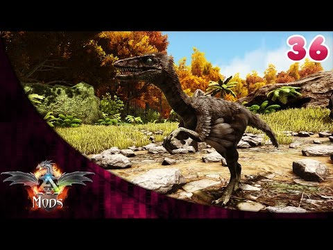 Ark com mods - Troodon, o dinossauro radar inteligente #36