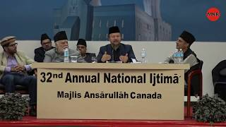 Part 2 (21 October 2017) Nashist With Mohtram Mubarak Siddiqi Sahib in Toronto, Canada