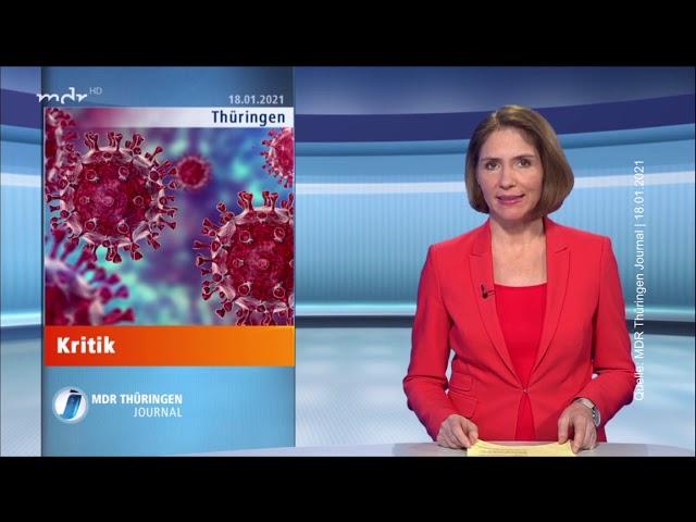 Thüringer Bundestags-Abgeordnete sehen Mega-Lockdown skeptisch | MDR Thüringen Journal 18.01.2021