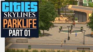 Cities: Skylines Parklife   WELCOME TO NERDCREST (#1)
