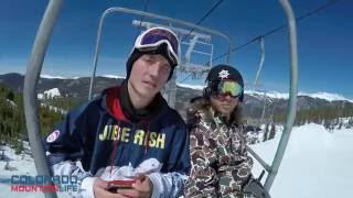 Two Roommates Make Snowboarding Videos Keystone Colorado