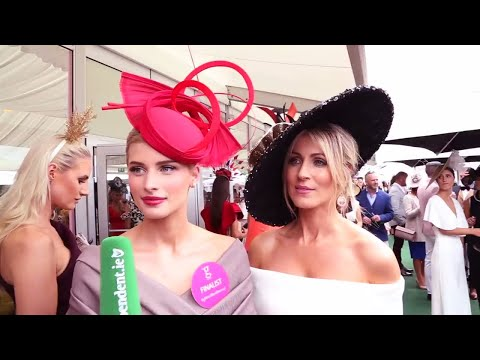 WATCH: Stunning Outfits And Impressive Hats On Show At Ladies Day In Galway