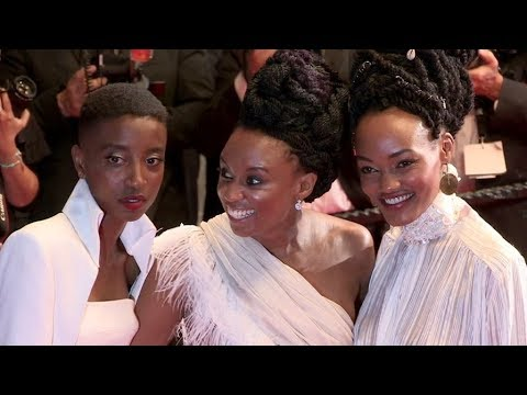 Samantha Mugatsia, director Wanuri Kahiu and more on the red carpet for the Premiere of Leto in Cann