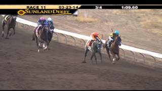Sunland Derby Replay and Interview