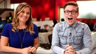 Tyler Oakley and Becca Frucht Announce Top That on POPSUGAR Girls' Guide!