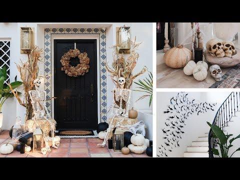 HALLOWEEN DECOR 2019! Chic Home Decorations (Outdoor + Indoor)