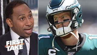The Eagles can't afford to lose to the Packers - Stephen A. | First Take