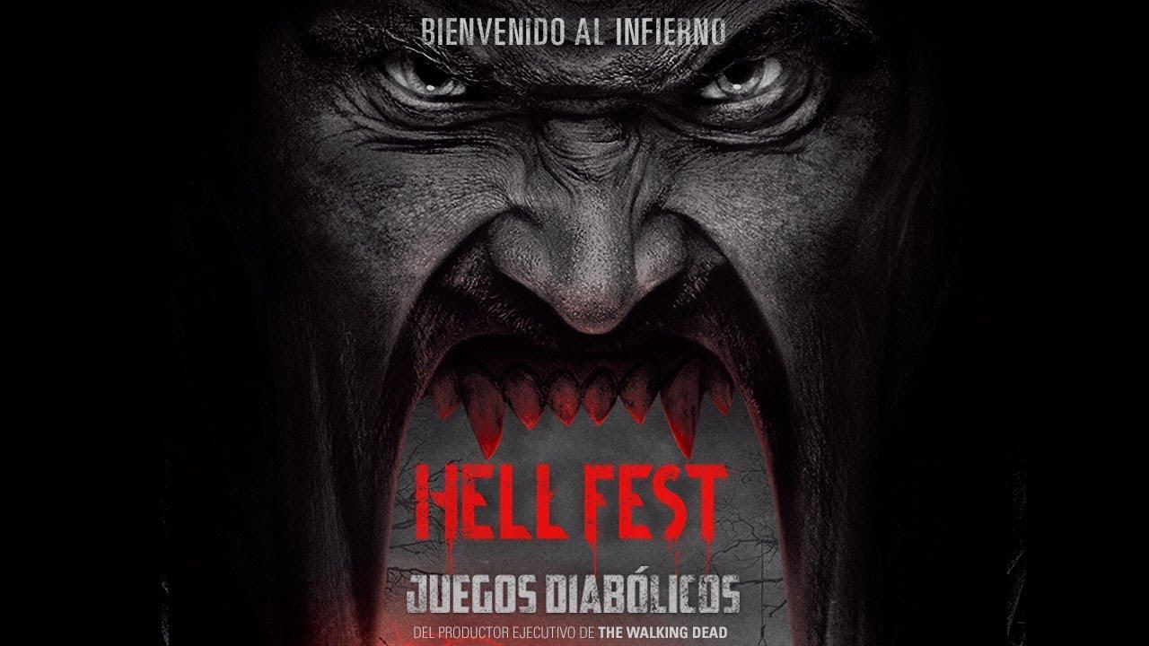 Hell Fest Juegos Diabolicos Trailer Oficial Subtitulado Youtube