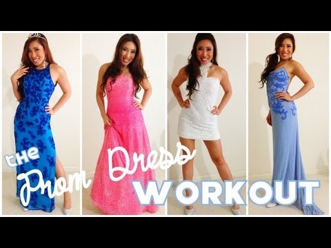 The Official Prom Dress Workout - YouTube