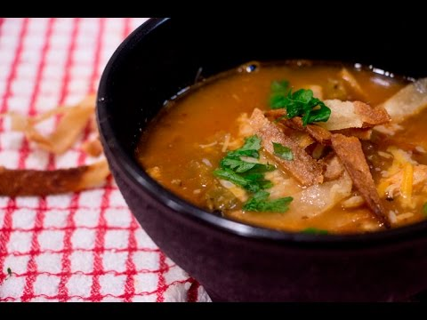 Chicken Tortilla Soup Recipe With A Cookie