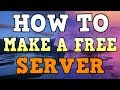 How To Make A FREE Server Minecraft Bedrock Edition (MCPE Servers 1.6)