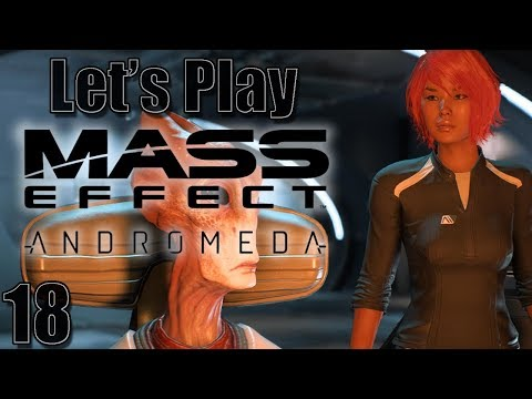 Let's Play Mass Effect: Andromeda, Blind [Ep 18] - More Dialogue on the Tempest | 1st Playthrough