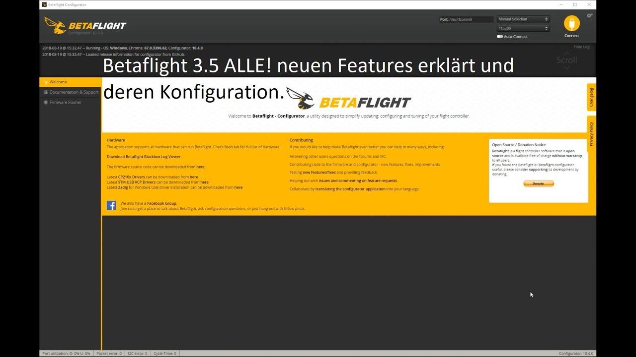 Betaflight Led Error Codes