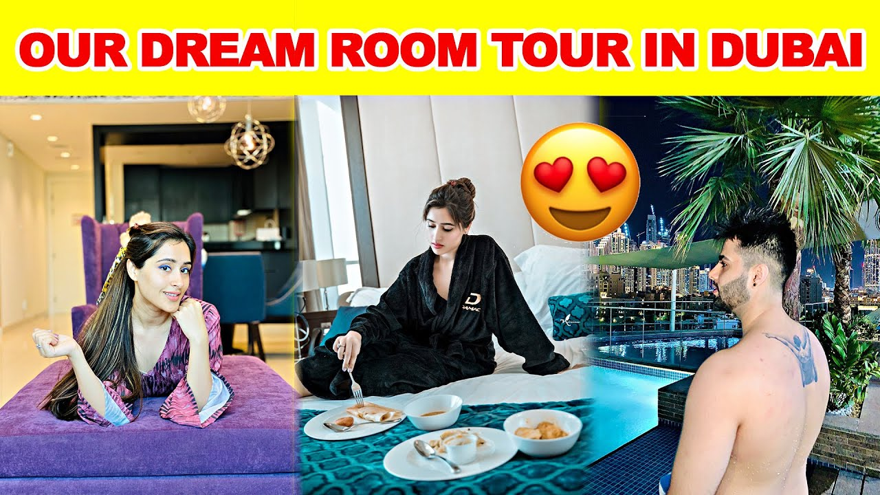 We Are STAYING HERE In Dubai | Glam Couple