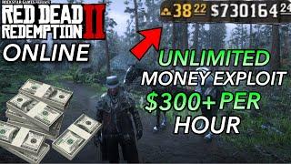 UNLIMITED MONEY GLITCH on Red Dead Redemption 2 Online (Exploit) Make $300+ Per Hour