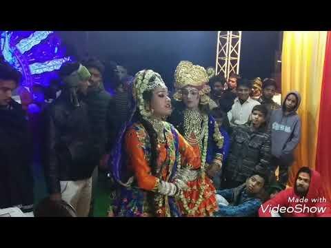 Radha Teri Chunri Ba Lal Re [Jhaanki Song]Shri Shri Saraswati Pooja Committee) Prayagraj (U.P) S.K