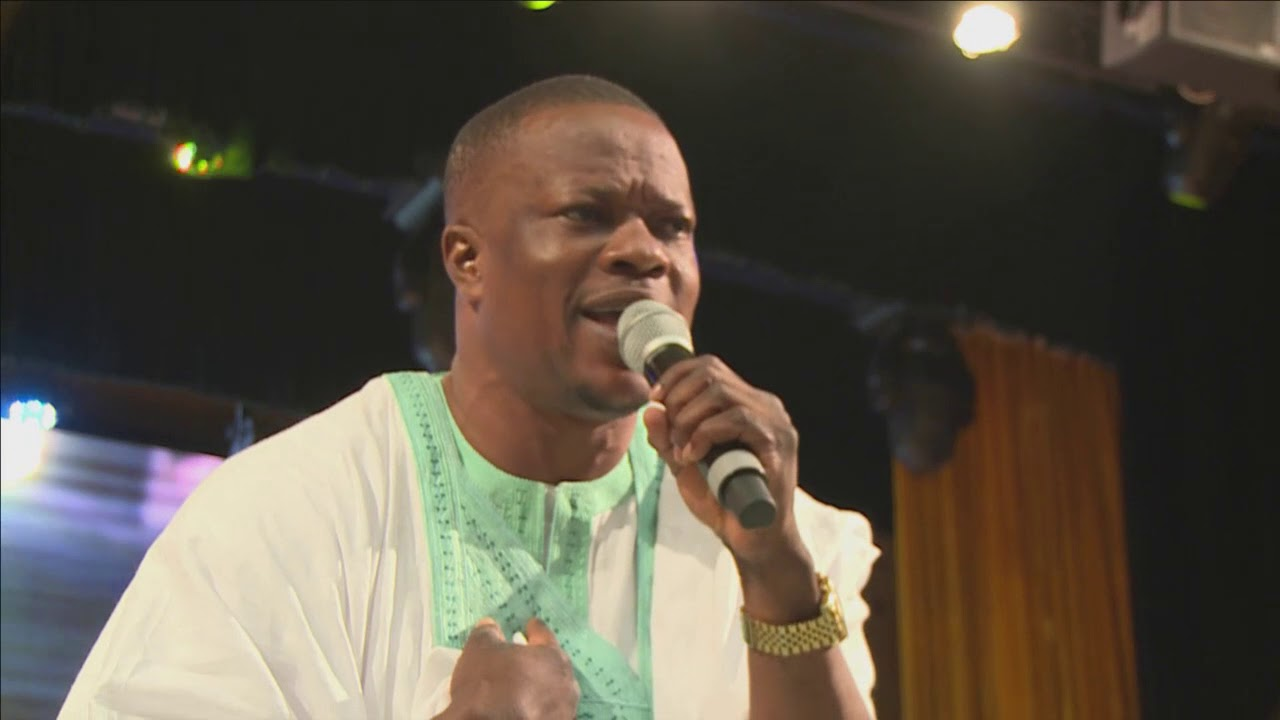 LANRE TERIBA PERFORMS  AT EXCEL 2017