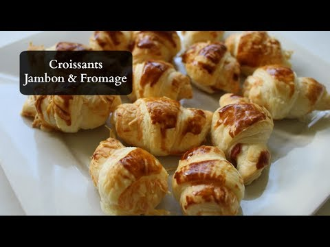 mini-croissants-jambon/fromage-pour-l'apéro-!