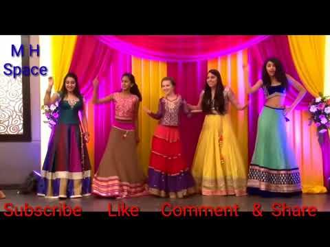 Bole chudiyan bole kangana|| Dance performance by girls on mixed songs