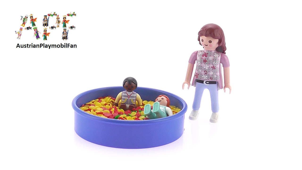Playmobil City Life 5572 Ball Pit - Playmobil Review - YouTube