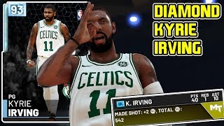 2a6e0aae588 DIAMOND KYRIE IRVING GAMEPLAY! THIS CARD IS A HOOPER! NBA 2k19 MyTEAM