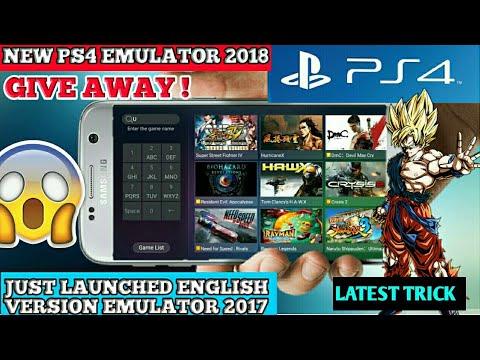 Play Gloud Games English Apk Ps4 Emulator 2018 100