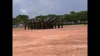 ZAMBIA ARMY intake 33 demo group pro by kapembwa micheal