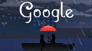 Composer Claude Debussy Google Doodle [HD]
