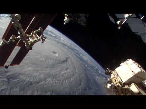 Category 5 Hurricane Lane Seen From Space