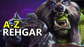 ♥ A - Z Rehgar -  Heroes of the Storm (HotS Gameplay)
