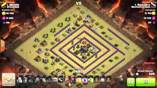 Clash Of Clans - Th9 - Golo - War 106 Vs Evil Kings - Dracarys Vs #1