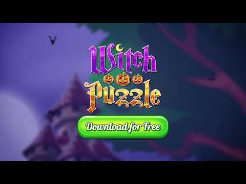 happy halloween play now the best new match 3 game you will ever see witch puzzle match 3 or more magic items to solve puzzles and enjoy hours of fun in