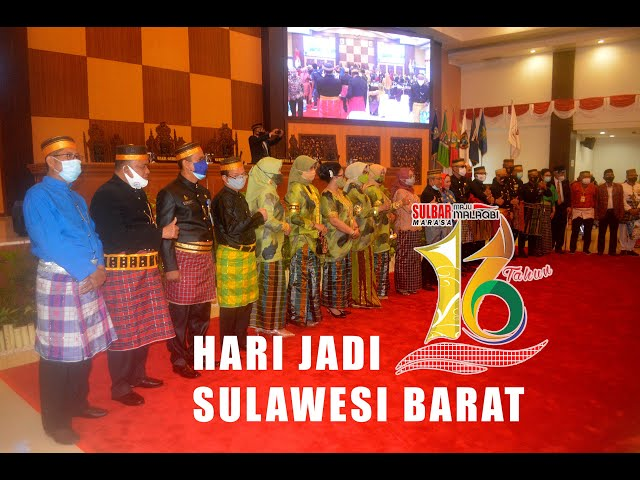 Peringatan Hari Jadi Sulawesi Barat ke 16 Tahun