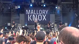 Mallory Knox  - Shout at the Moon - live download festival paris 2017 France