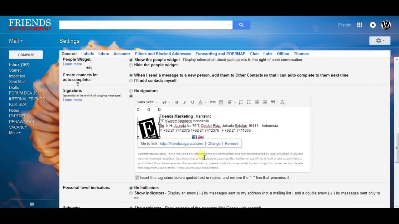 How to Fix Unloaded Images on Your Gmail Signature