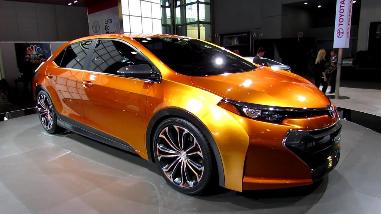 Toyota Corolla Le >> 2014 Toyota Corolla Furia - Exterior Walkaround - 2013 New York Auto Show - YouTube