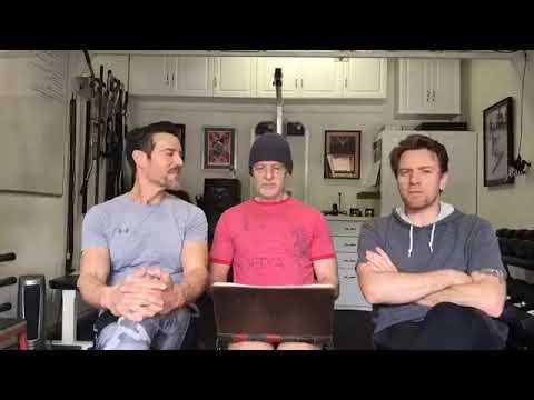 Live Facebook: Ewan McGregor, Tony Horton and Scotty Fifer