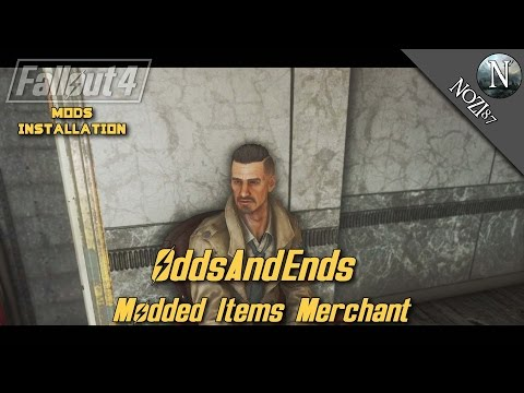 Fallout 4 Mod Showcase: OddsAndEnds - Modded Items Merchant by Ruddy88