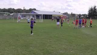 CZ19-Letni Obóz Szabełów-Iskra Kochlice-Głuchołazy 2019-Dzień Piąty-Ostatni Trening