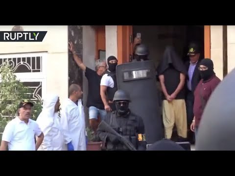 Arrest of terrorists: Police discovers weapons & ammunition in Moroccan house