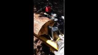 Countyline 22 ton log splitter by Tractor Supply review