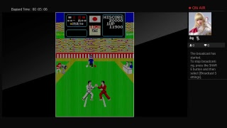 Arcade Archives Karate Champ (PS4) One Credit Game Sample