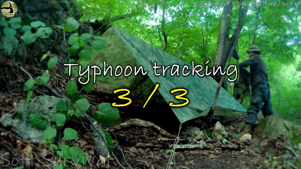 [Country Bow-wow] The valley tracking in typhoon (3/3) / Helinox Cot Convertible / Oregon 750t