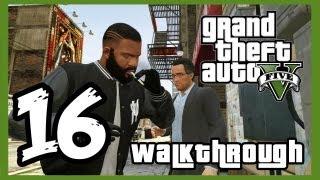 "Grand Theft Auto V Walkthrough PART 16 [PS3] Lets Play Gameplay TRUE-HD QUALITY ""GTA 5 Walkthrough"""
