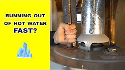 Water Heater Running Out of Hot Water? Here's Why