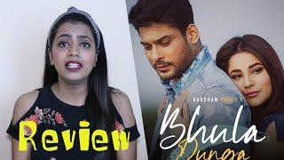 Bhula Dunga Song Review | Sidharth & shehnaaz Beautiful Chemistry | Trending Video