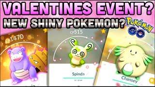 SHINY VALENTINES EVENT IN POKEMON GO?   NEW SHINY SPINDA